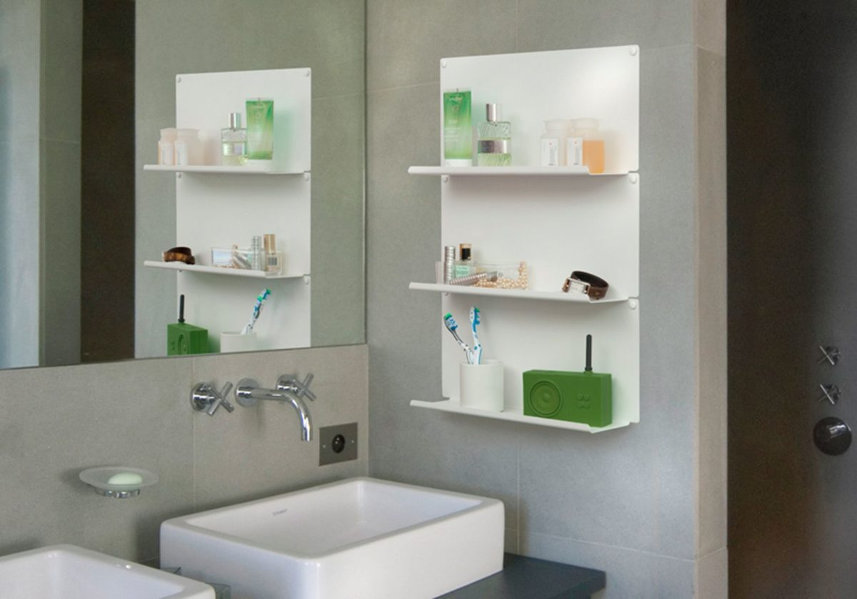 Ideas for Recessed Bathroom Shelves