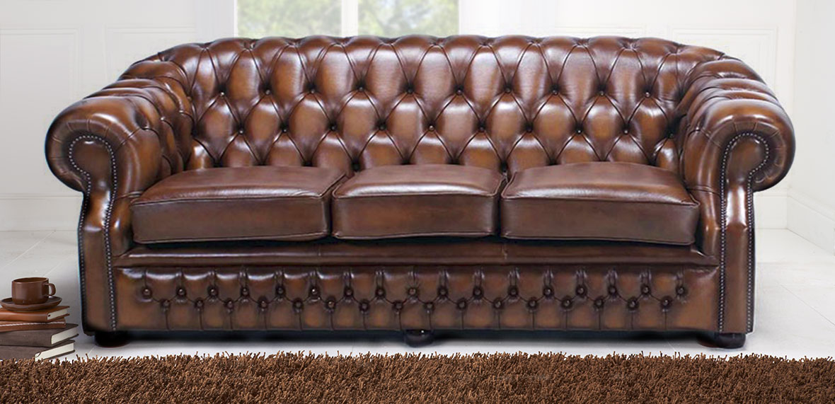 buy a pleasant design chesterfield sofa to redecorate your living
